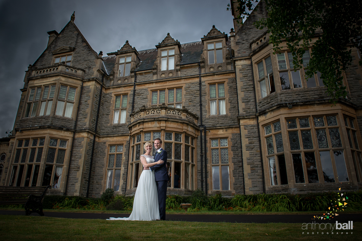 Stormy Wet Summer Wedding at Blaisdon Hall